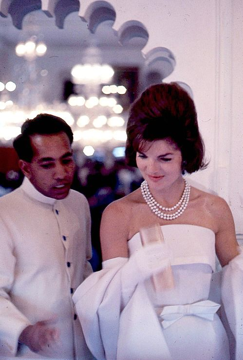 Jackie Kennedy in India and Pakistan - Katie Considers
