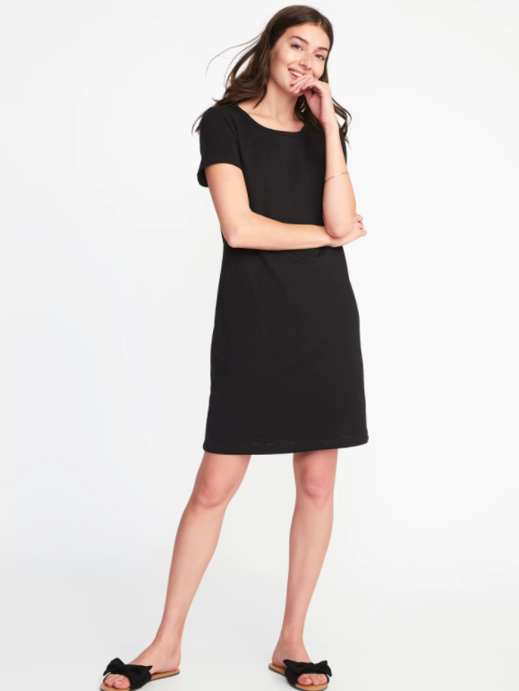 9ffbe326351 Knit Tee Dress, $27 (other colors available, the shoes aren't available  yet—stay tuned!)