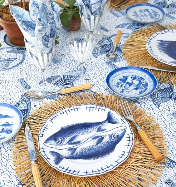 Tory Burch's Spring Table
