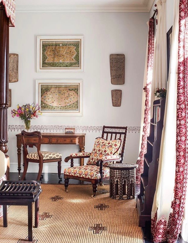 Veere Grenney at Home in Tangier