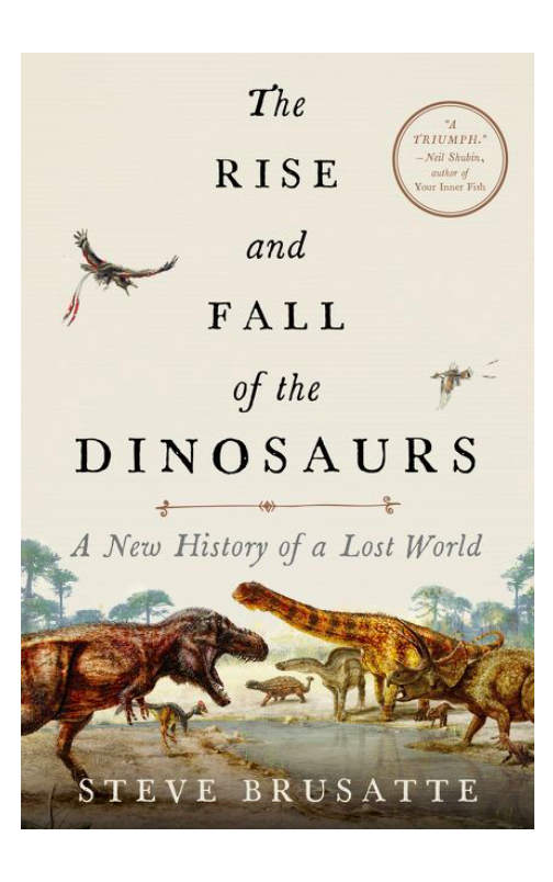 The Rise and Fall of the Dinosaurs Book Cover Father's Day Gift