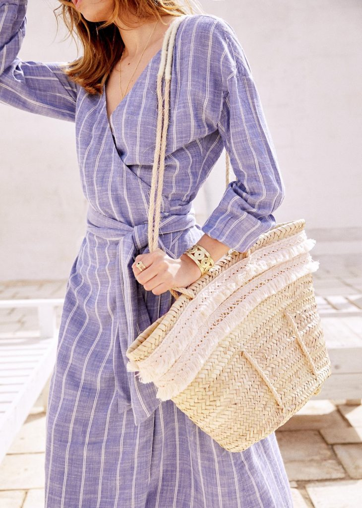 d5ff7203bf31 French favorite Sezane voyaged to Italy to shoot their gorgeous new summer  collection which is out today. Naturally