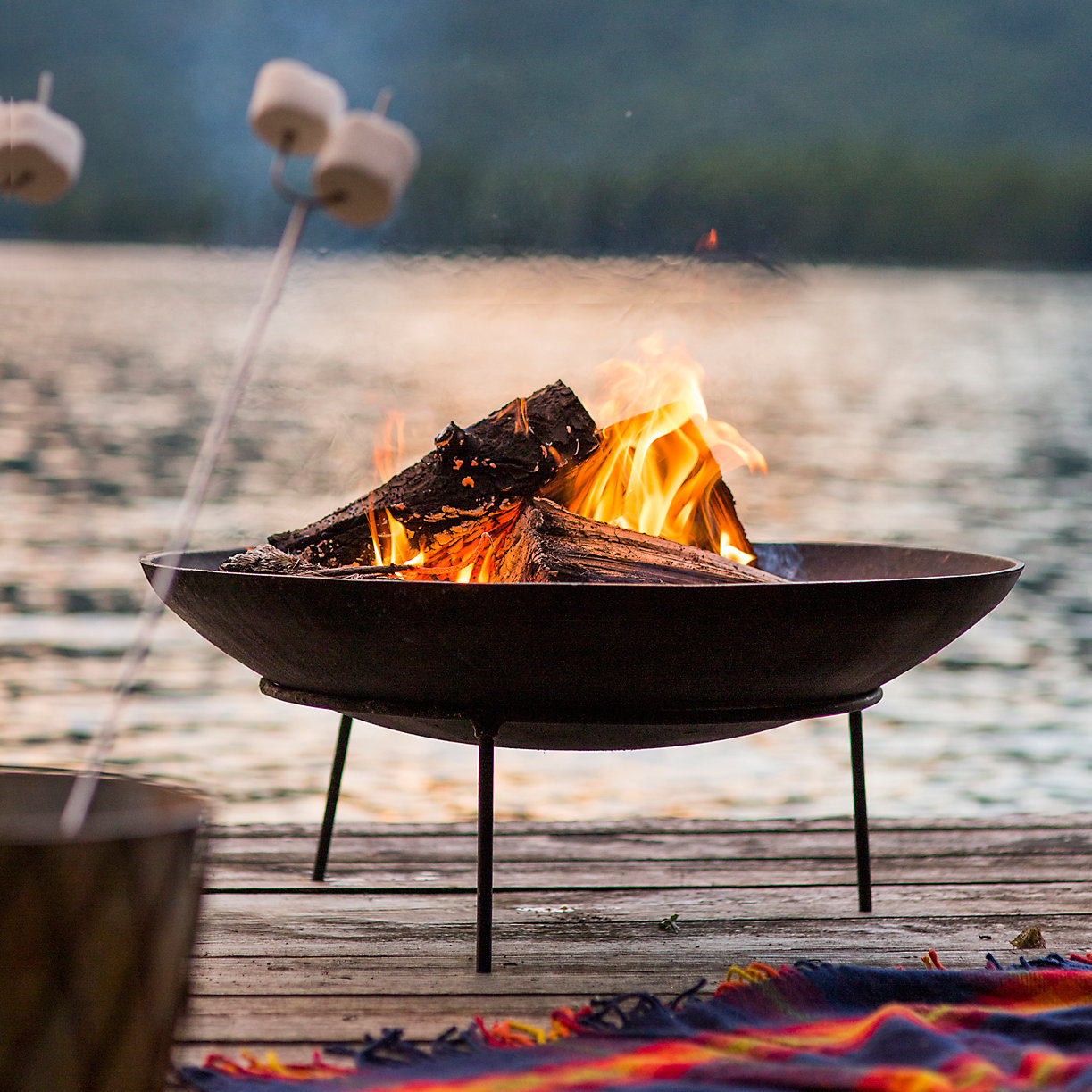 Cast Iron Fire Pit Father's Day Gifts