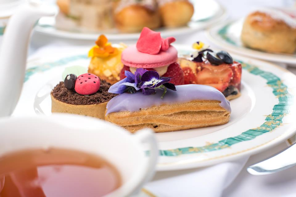 Afternoon Tea Pastries at Cliveden House Hotel England