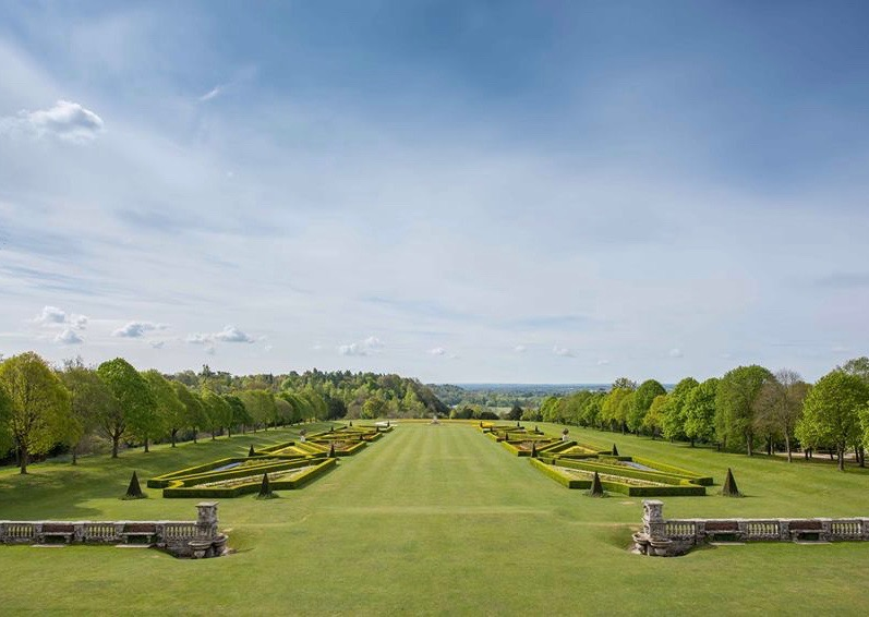 Gardens of Cliveden House hotel