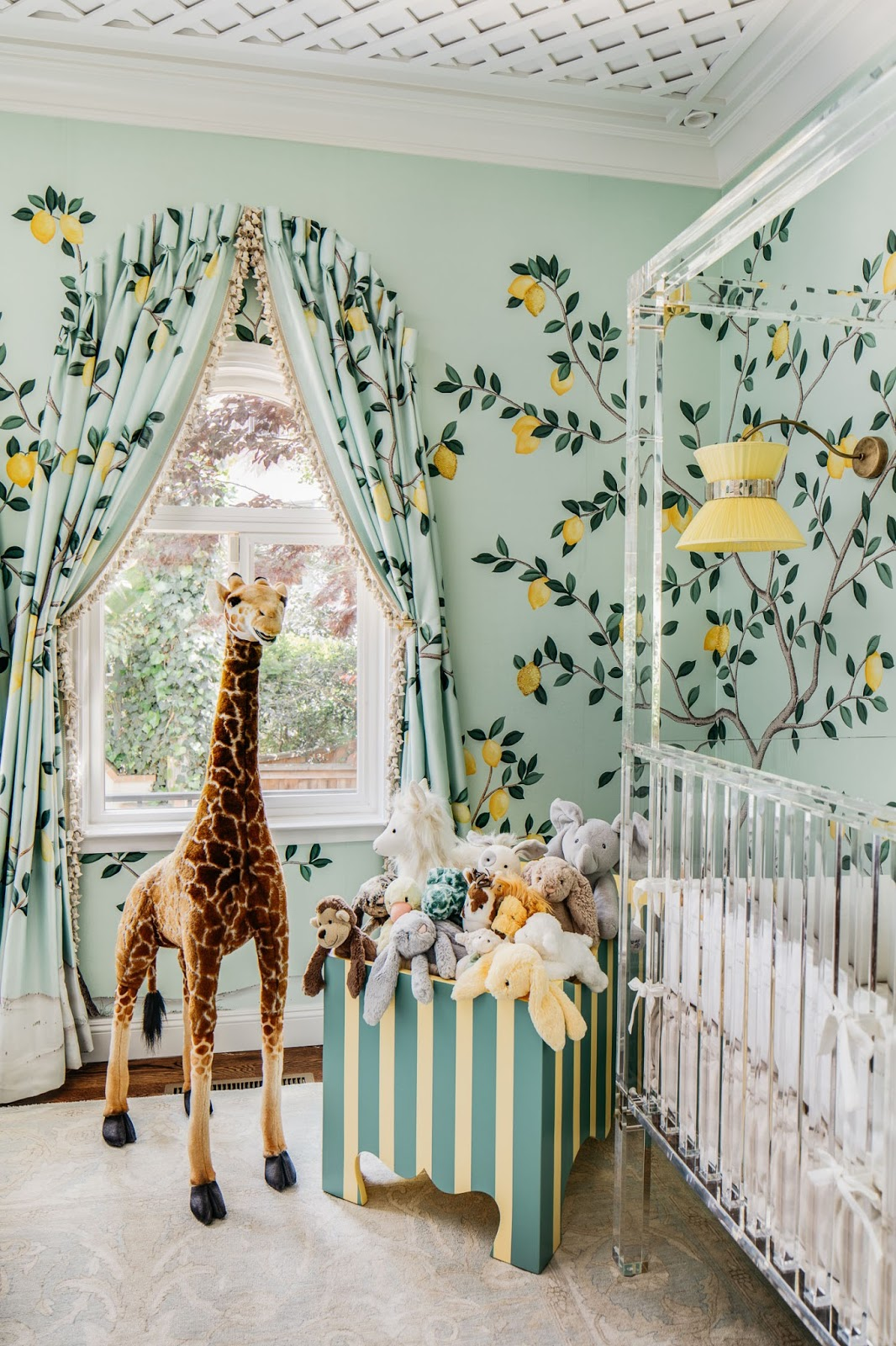 A Magical Nursery By Dina Bandman At The 2018 San Francisco Decorator Showcase