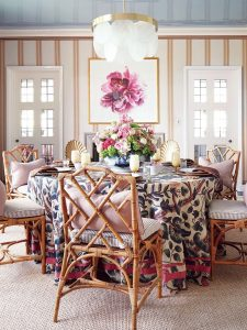 Ode to the Skirted Table