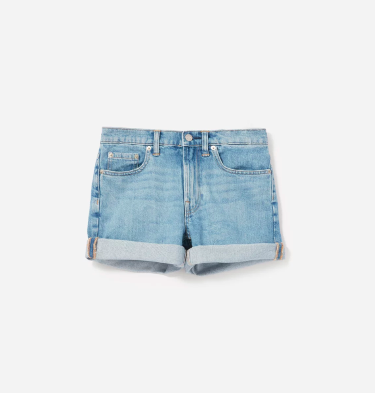 Denim Blue Jean Shorts Everlane Women's