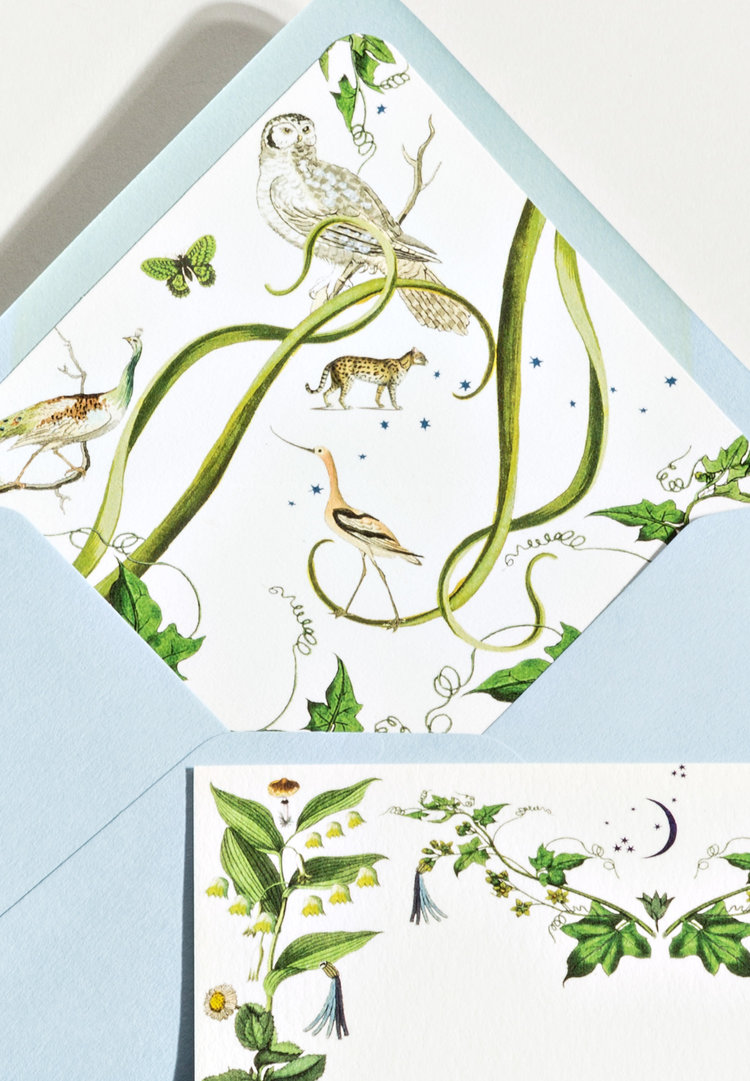 Artist and Calligrapher Stephanie Fishwick Launches a Stunning New Stationery Collection