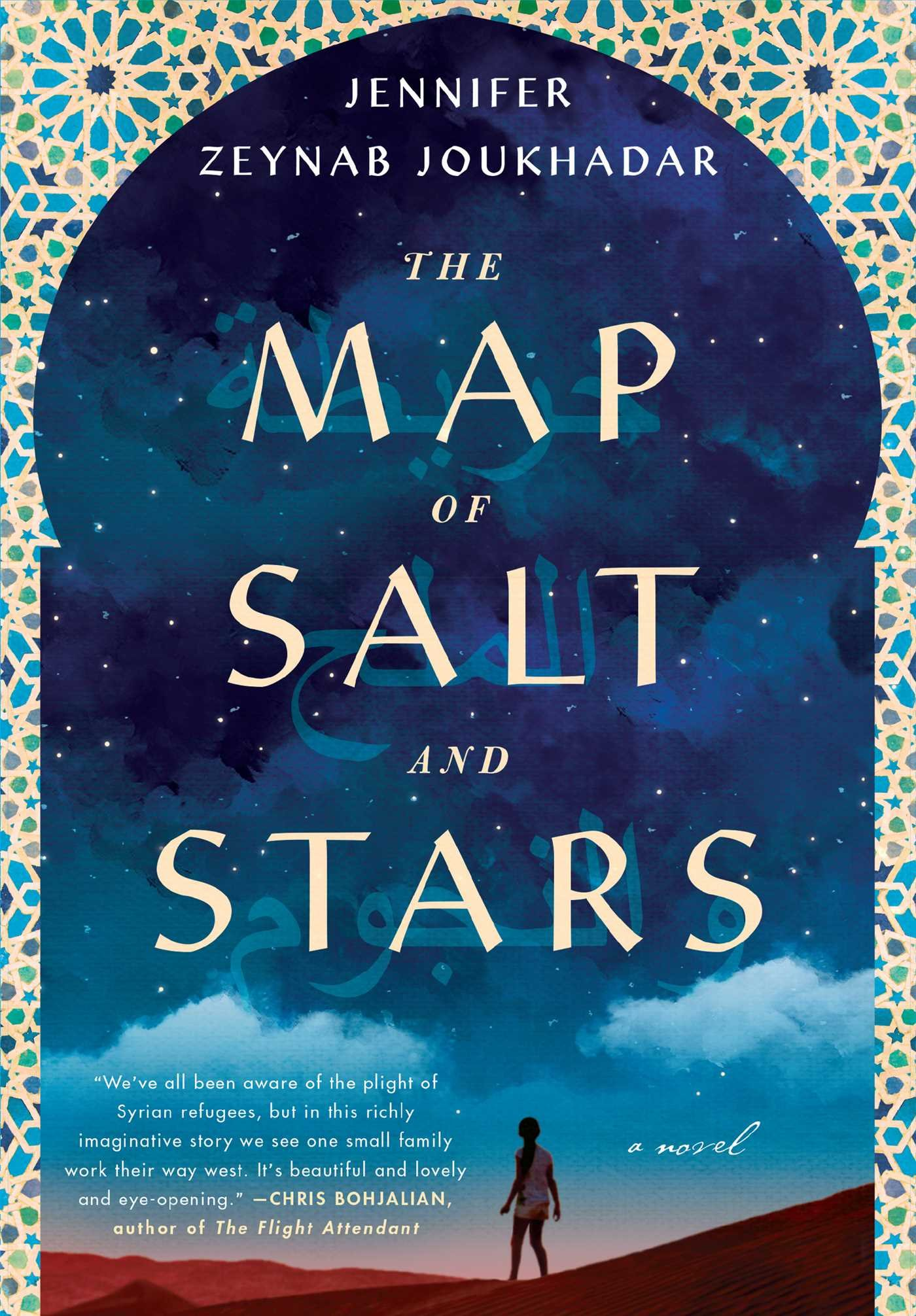 The Map of Salt and Stars New Novel About Syria Book Cover