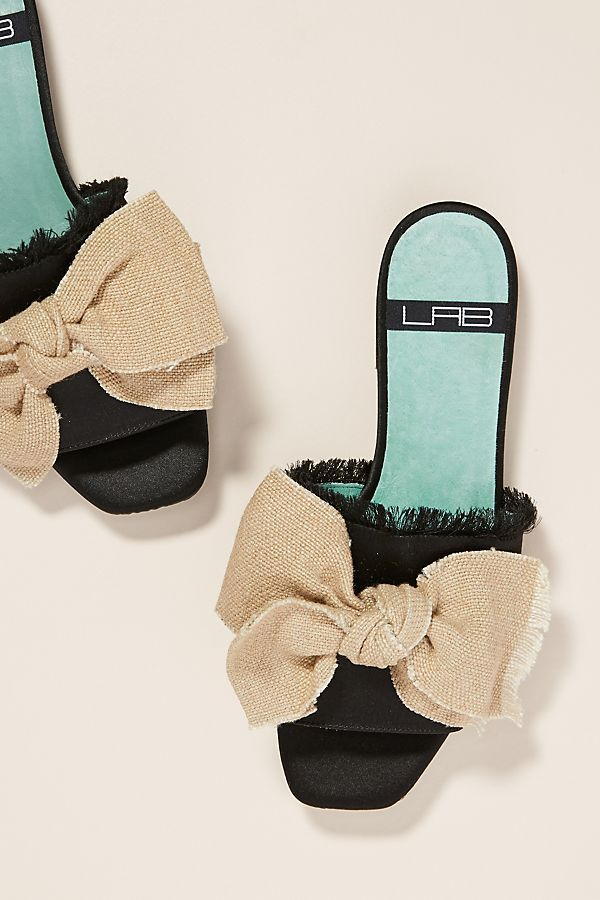 Bow Tied Sandals