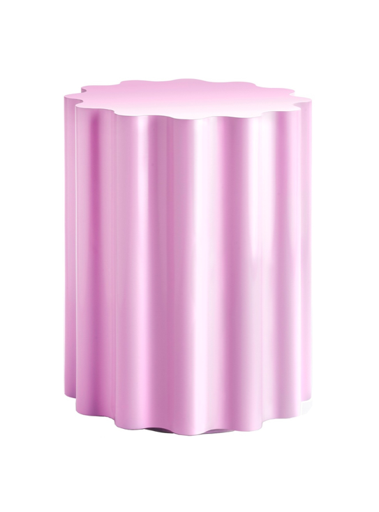 Lilac Colonna Stool by Kartell Lavender Purple