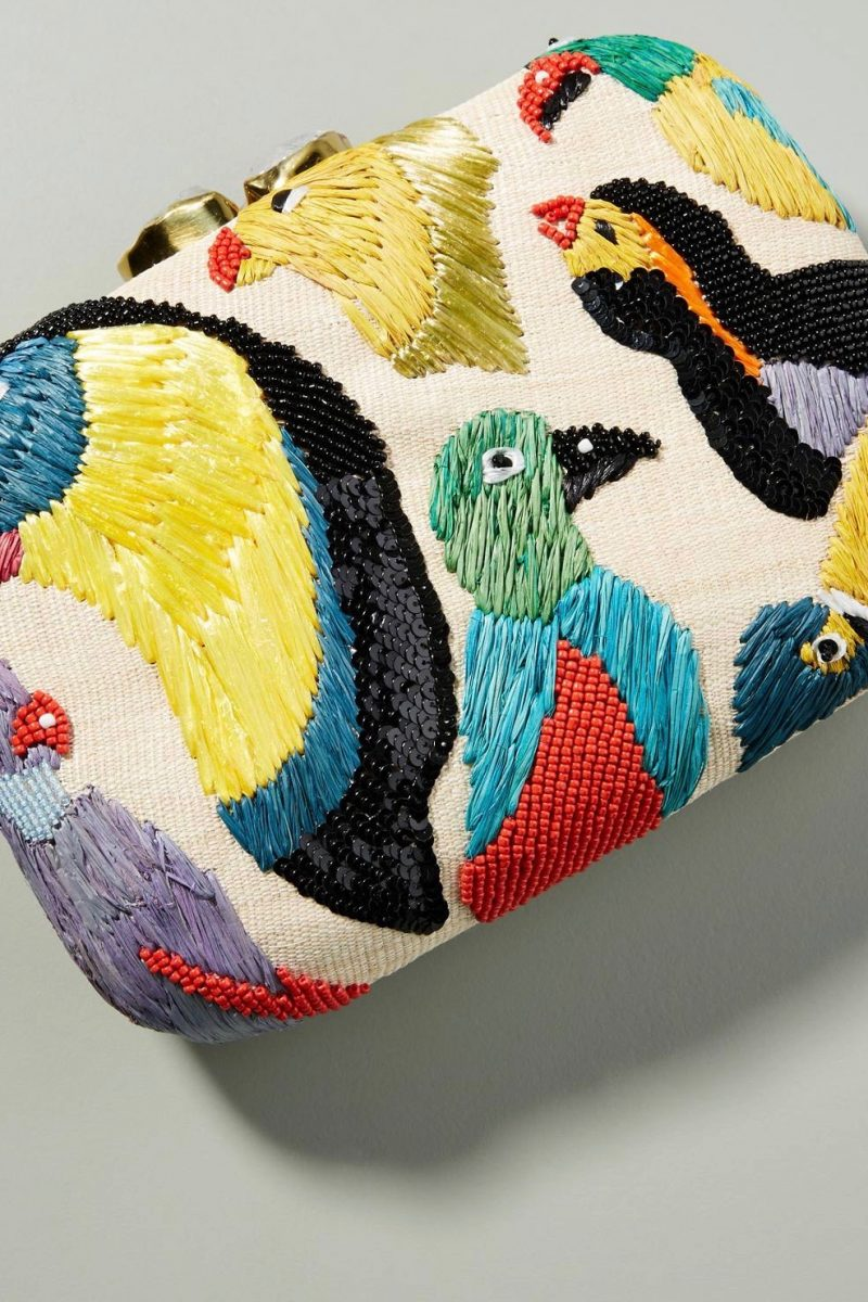 The Daily Hunt: Embroidered Clutches and More!