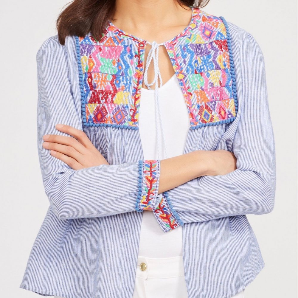 The Daily Hunt: Embroidered Jacket and More!