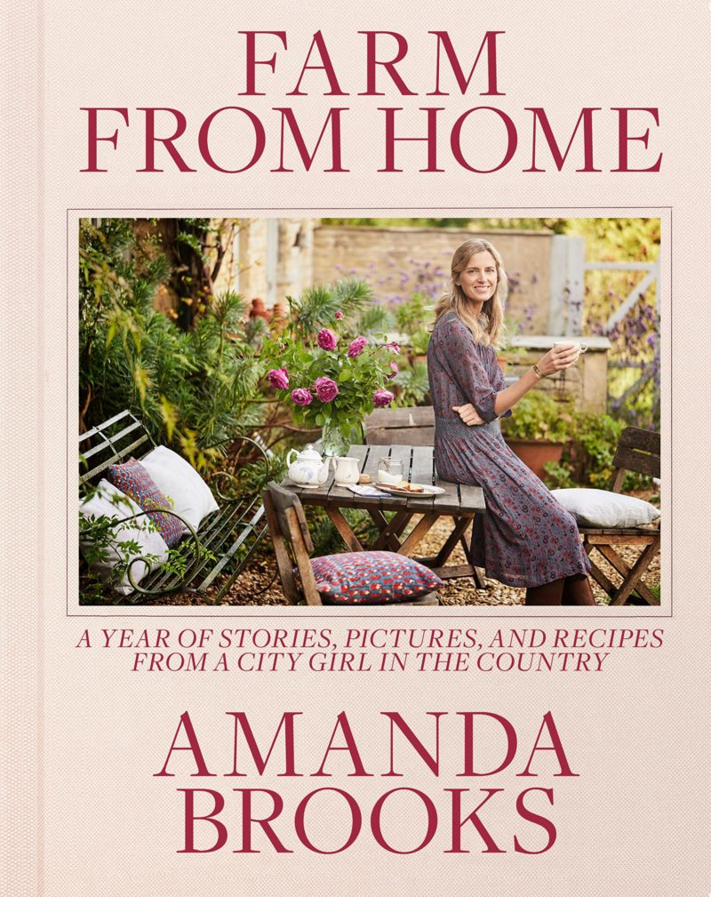 Amanda Brooks Farm From Home Book Cover Cutter Brooks