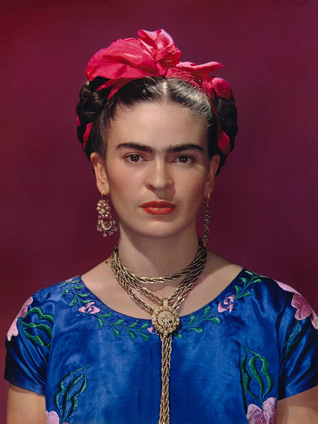 Frida Kahlo exhibition at the Victoria and Albert Museum London