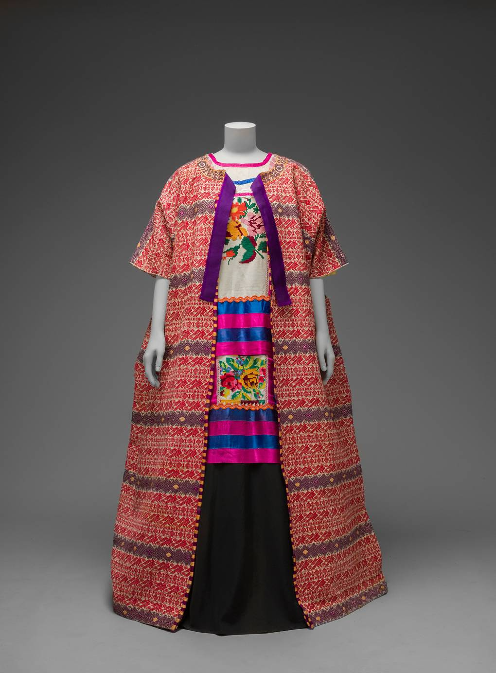 Frida Kahlo exhibition at the Victoria and Albert Museum London dress