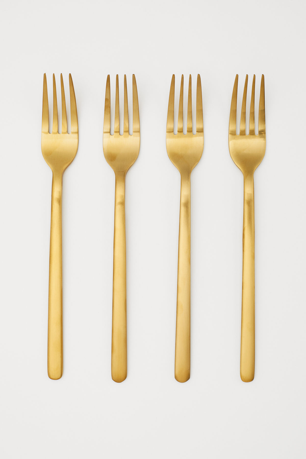 Gold Forks Flatware