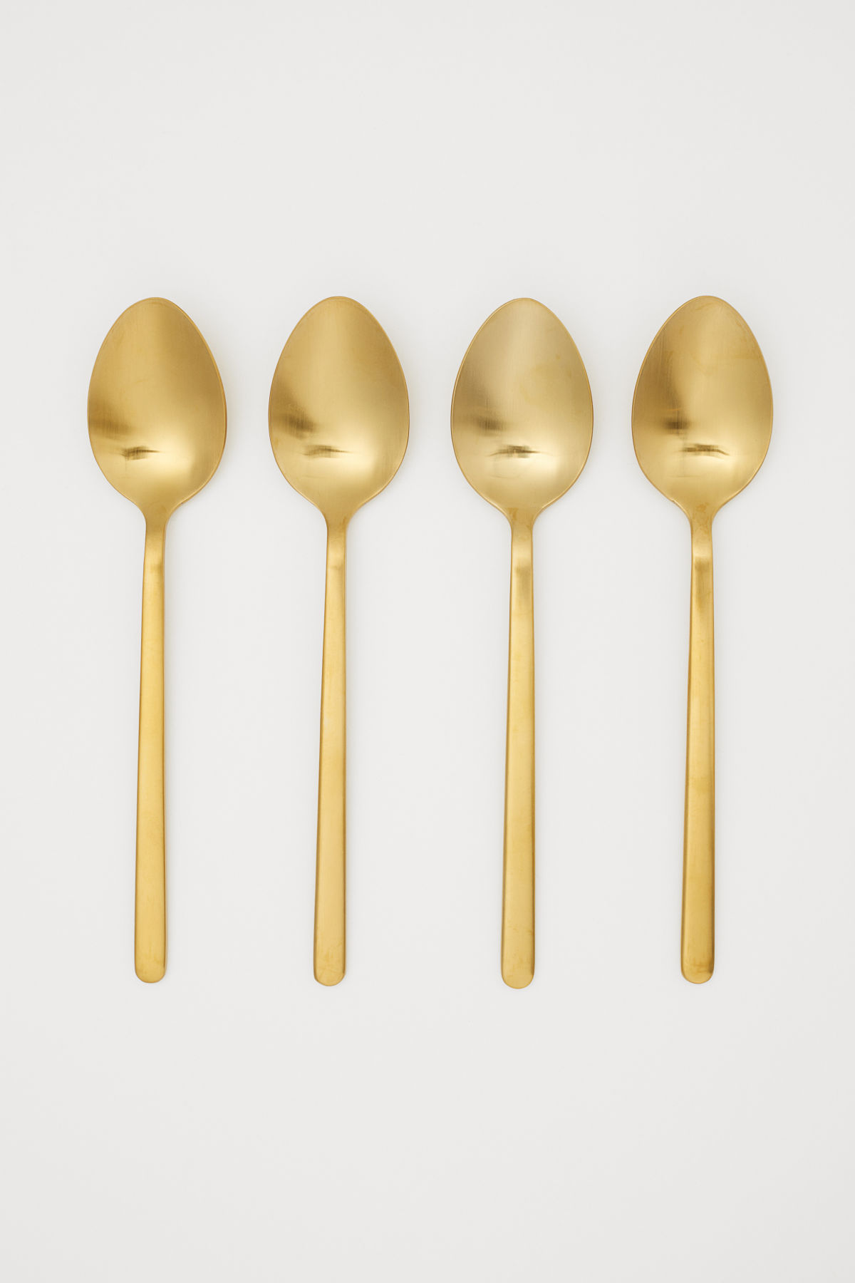 Gold Spoons Flatware Set