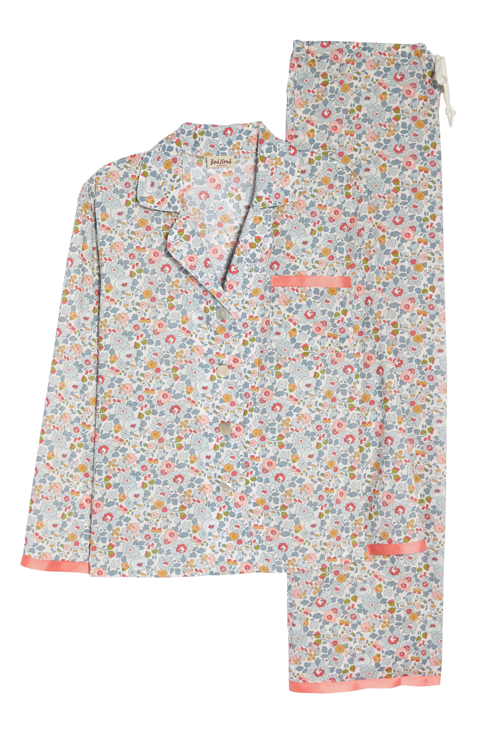 Liberty London Floral Pajama Set