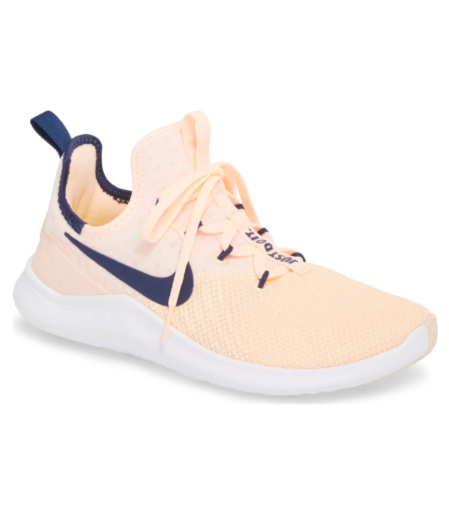 nike-trainers-peach-pink-navy-blue
