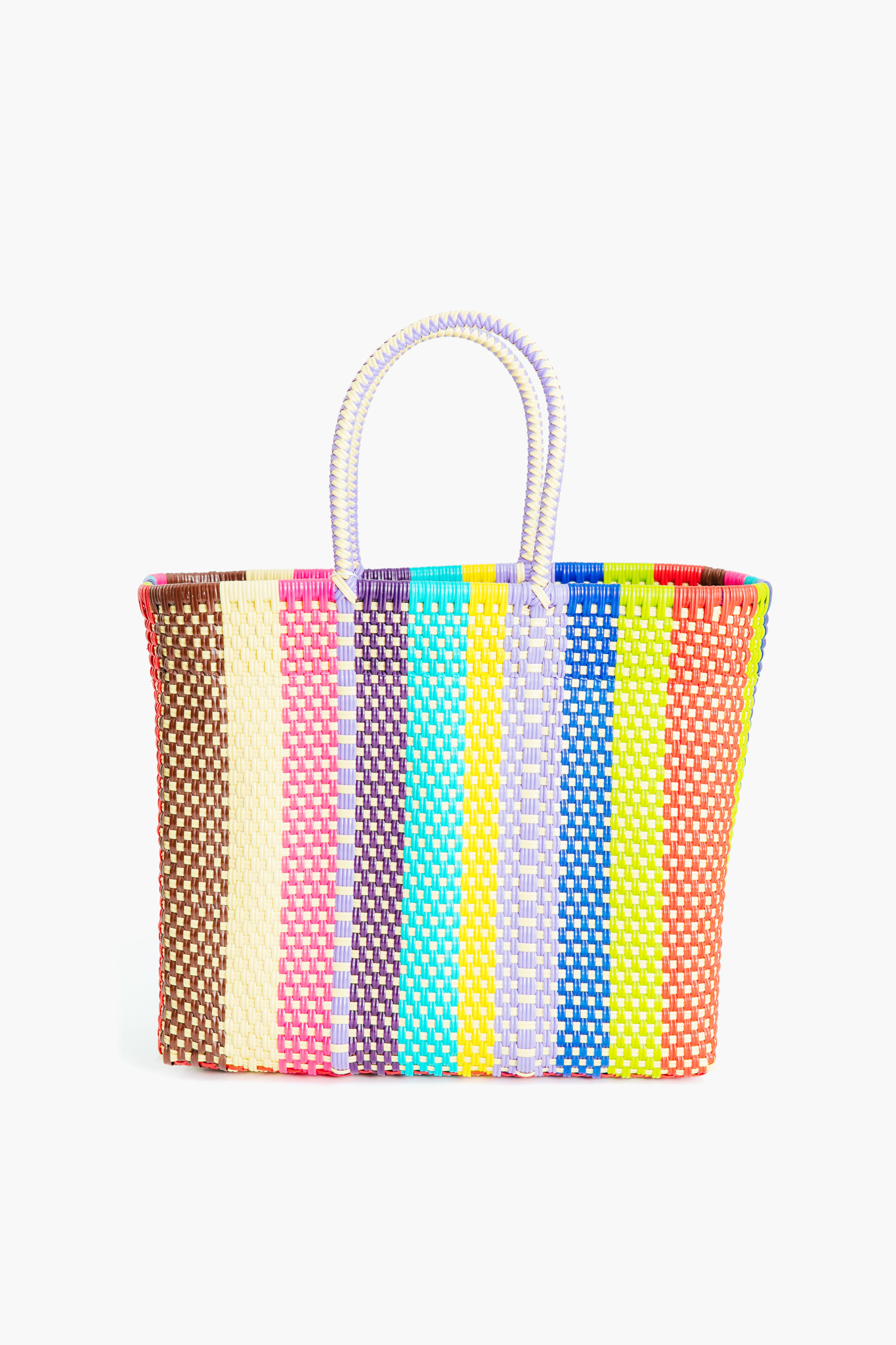 Colorful Stripe Tote Bag