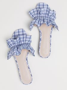 The Daily Hunt: $30 Ruffled Plaid Slides and More!