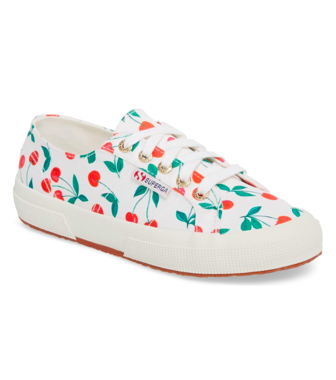 Superga Cherry Print Sneakers