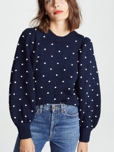 The Daily Hunt: Polka Dot Embroidered Sweaters and More!