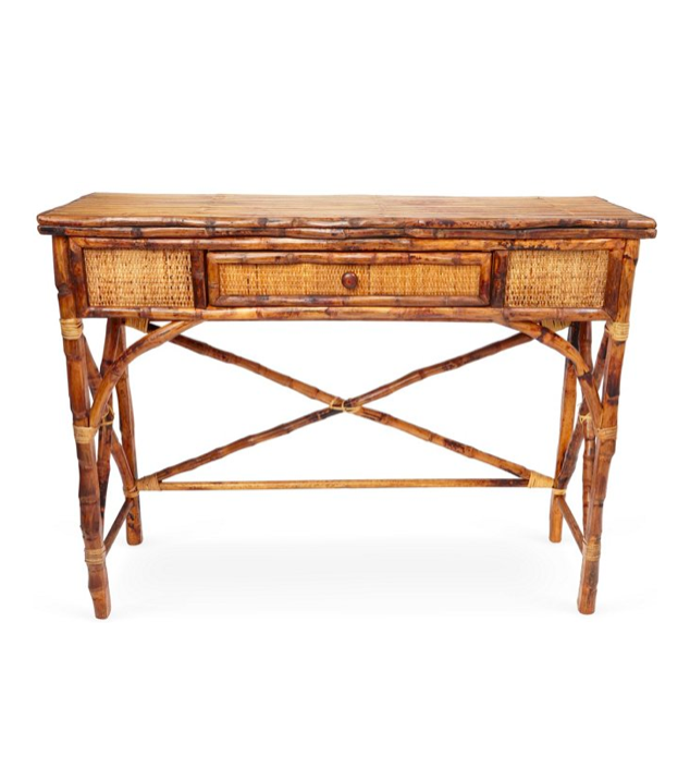 Tortoise English Bamboo Console Table