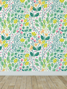 Over 30 Removable Wallpaper Patterns for Children's Rooms