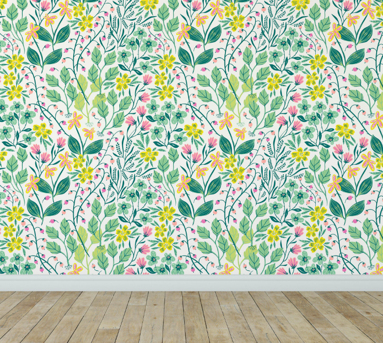 Looking For A Charming Removable Wallpaper To Give Your Child S Room An Instant Makeover As We Prepare Adopt Baby I Can T Help But Swoon Over All The