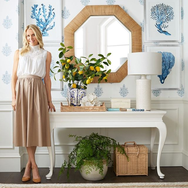 Sarah Bartholomew for Pottery Barn Entry Foyer