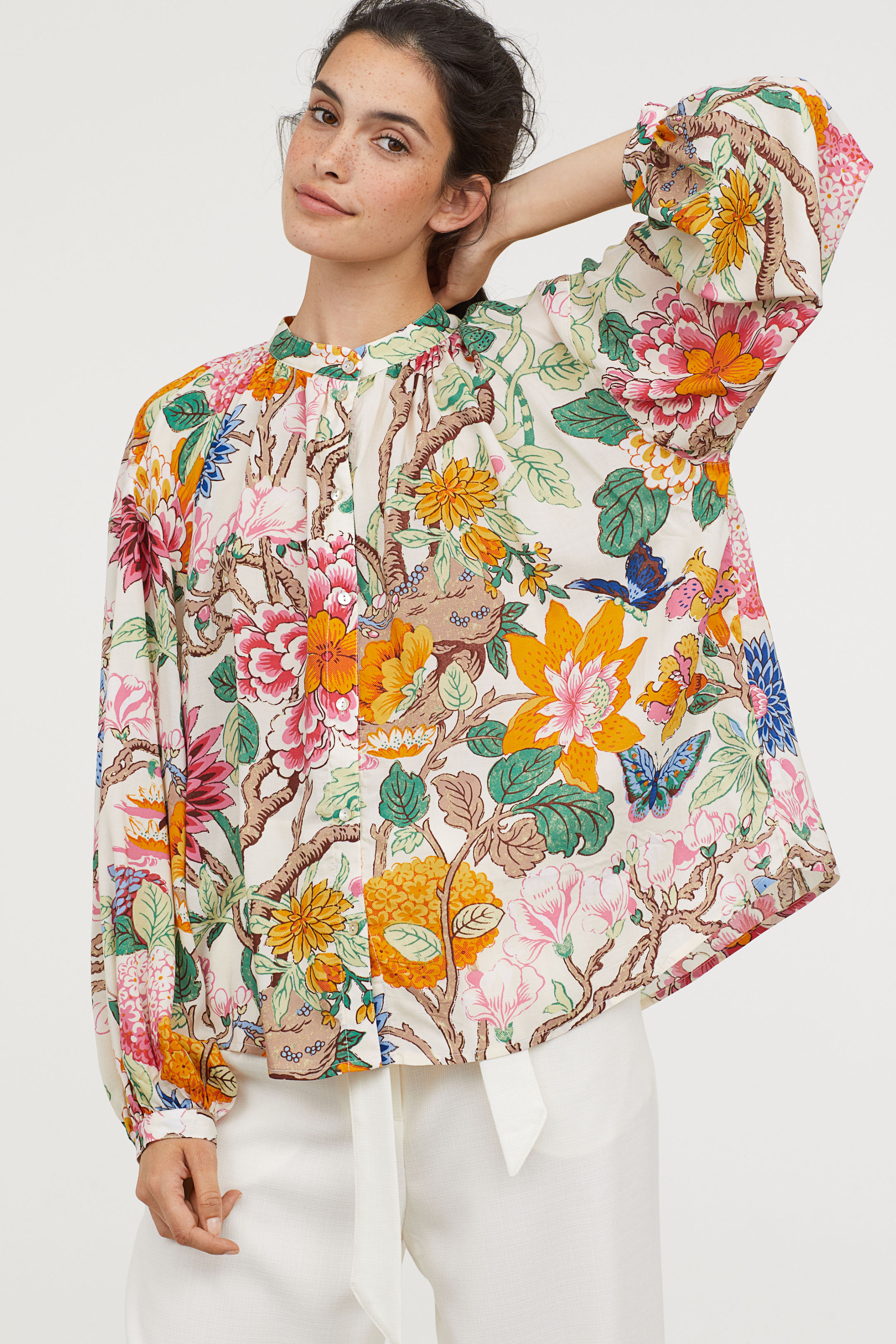 Floral Blouse GP&J Baker for H&M