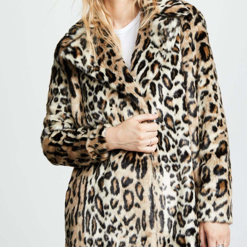 The Daily Hunt: Faux Fur Leopard Coat and more!
