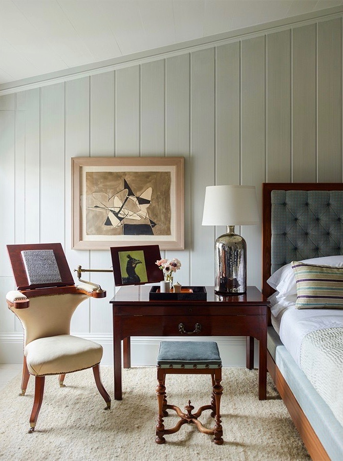 Sag Harbor Bedroom by Steven Gambrel