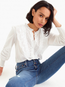 The Daily Hunt: The Sweetest Eyelet Top and More!