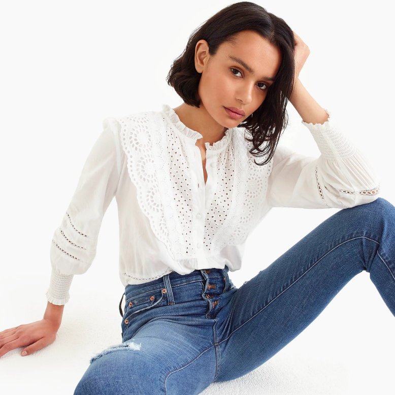 d8692ac88ba8bc The Daily Hunt  The Sweetest Eyelet Top and More! - Katie Considers