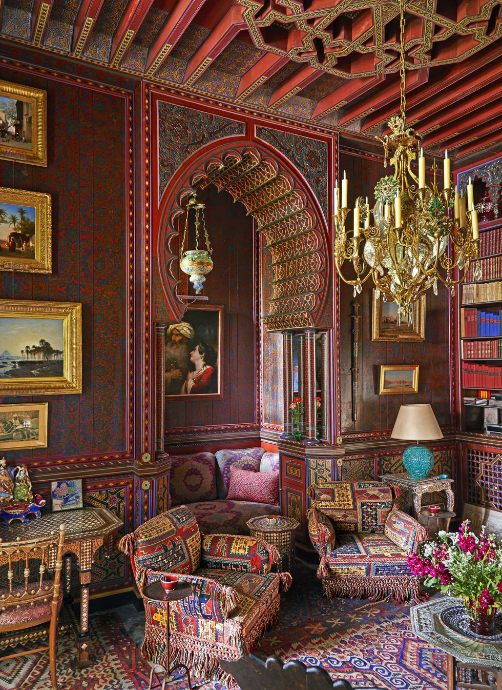 Yves Saint Laurent S Private Moroccan Villa Katie Considers