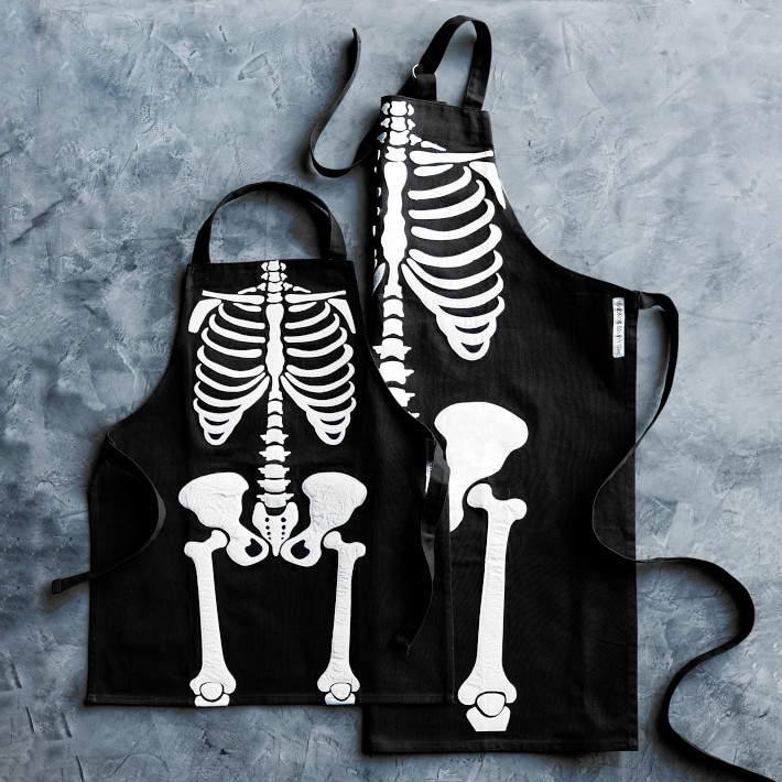 Glow in the Dark Skeleton Aprons Kids and Adults