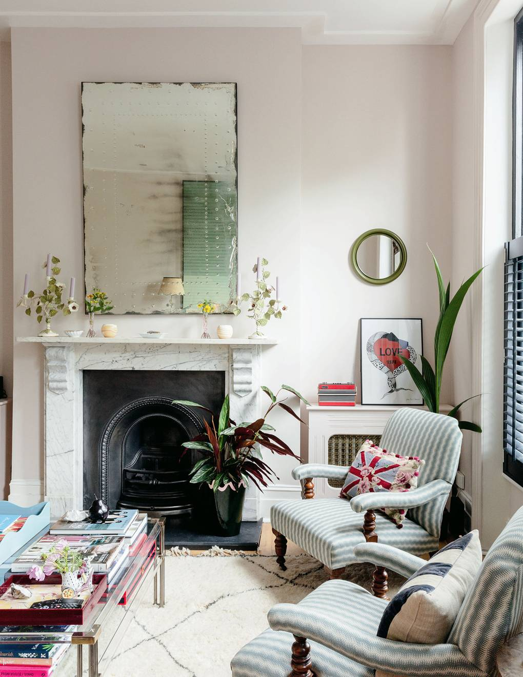 Matilda Goad's Notting Hill Home Living Room