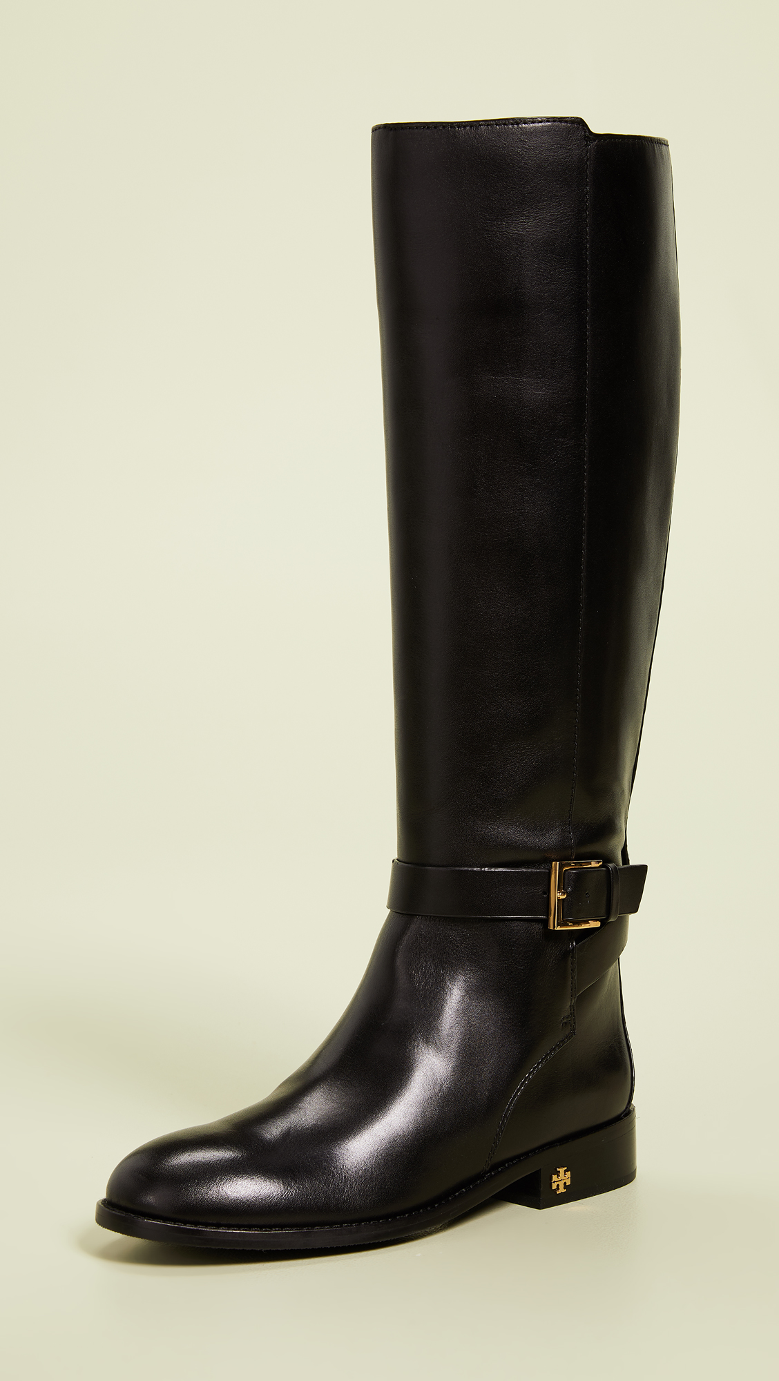 aa350cc9801 tory-burch-riding-boots-tall-black-leather-knee-high - Katie Considers