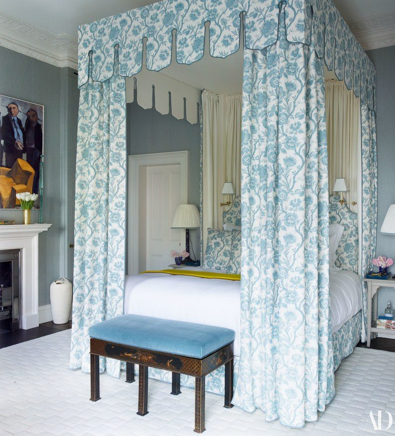 Nina Flohr's Gorgeous London Home Decorated by Veere Grenney