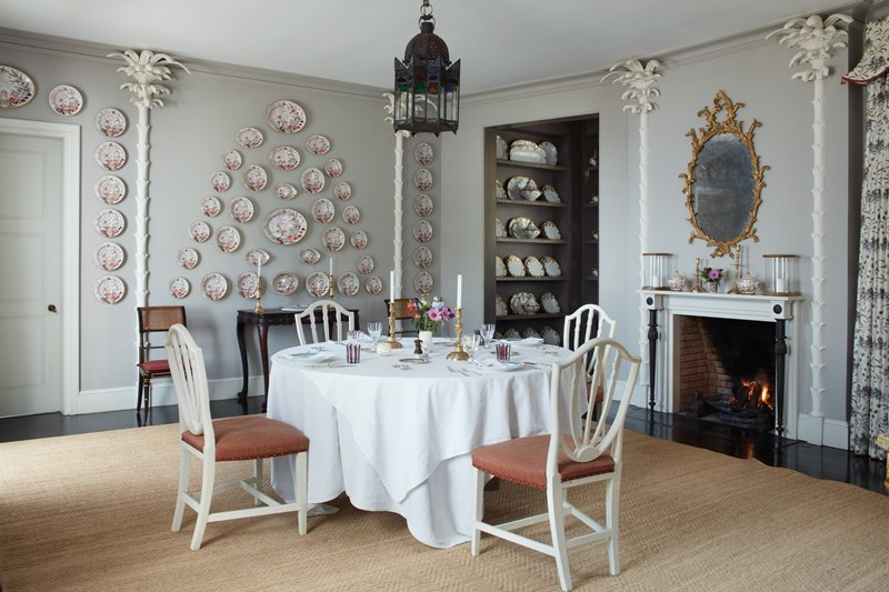 Veere Grenney A Point Of View: On Decorating Tangier Home Dining Room