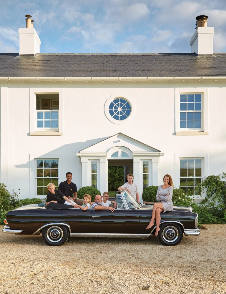 A Slice of England India Hicks Black Mercedes