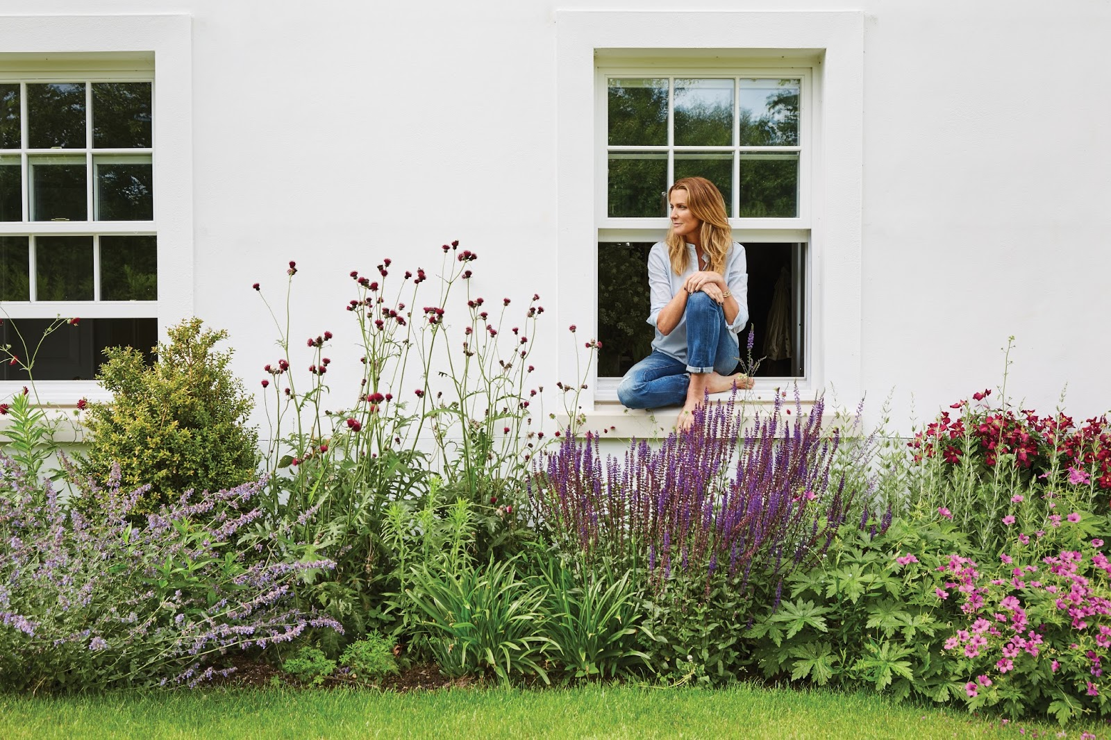 A Slice of England India Hicks Garden