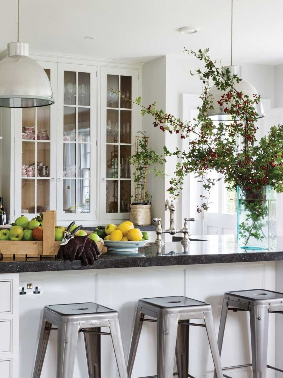 A Slice of England India Hicks White Kitchen