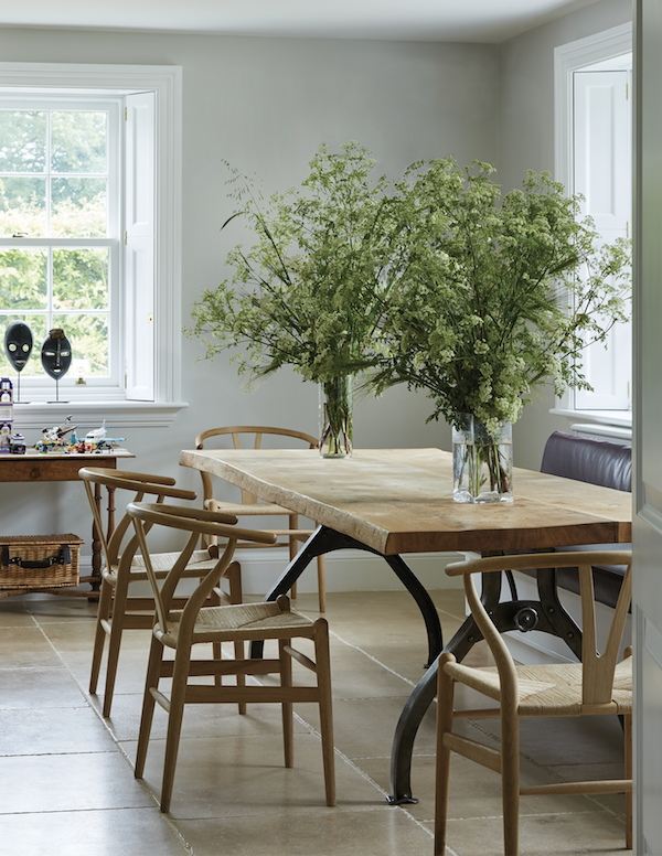 A Slice of England India Hicks Farmhouse Dining Room