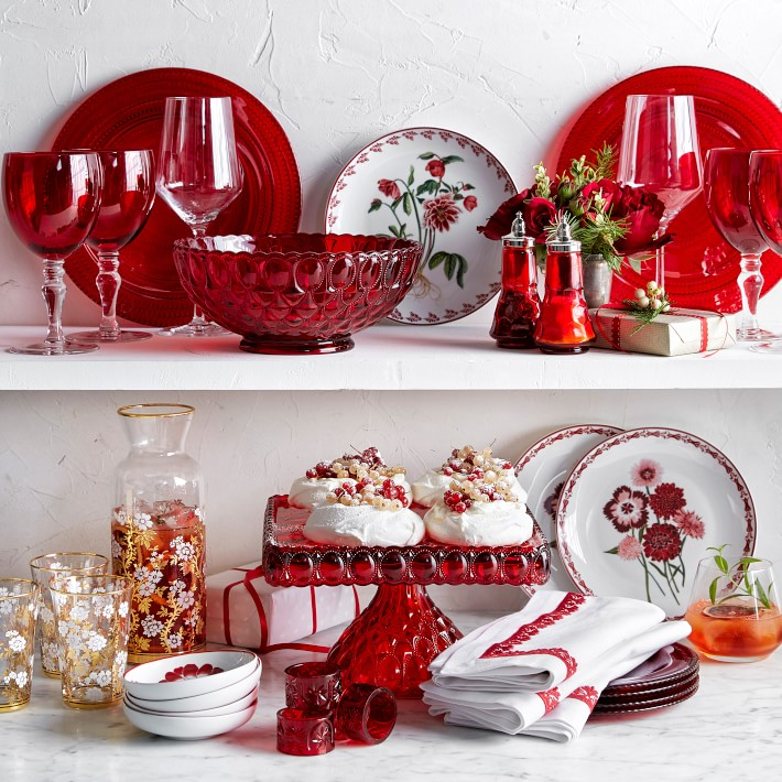 Williams Sonoma Christmas Plates.Aerin For Williams Sonoma Holiday Collection Katie Considers