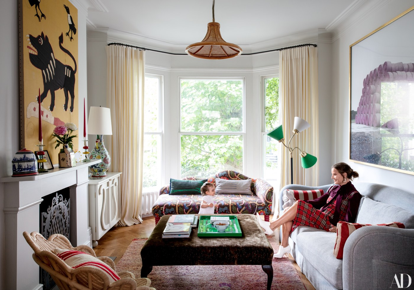 Beata heuman 39 s whimsical london home katie considers - Room creator interior design ...